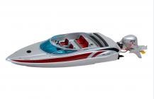 SILVER SPIRIT RC loď so závesným motorom