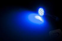 Super mikro svietiace bodové svetlo (24 LED) pre kvadrokoptéry, modré