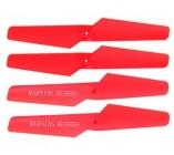 Syma X5C-02 rotorové listy, červená