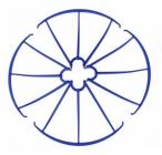 Syma X5C-03M kryty rotorových listov, modrá