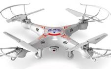 RC dron X5C-1 s HD kamerou, biela