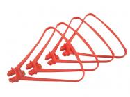 Syma X8SC, X8SW a X8PRO kryty rotorových listov, červená