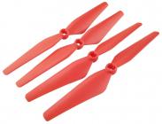 Syma X8SC, X8SW náhradné rotorové listy, červená