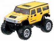 Mini RC Monster Truck, žltý