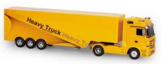 RC kamión Mercedes-Benz Actros, žltá