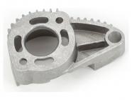 Traxxas - lože motoru leštěný hliník