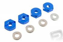 Unášače kolies – ALU, (modré), 4 ks 102042