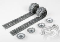 Upgrade kit tunning - kovové pásy, kolesá (pre 3818/19)