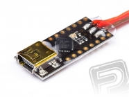 USB interface pre programovanie reg. Flux