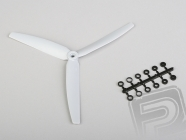 Vrtuľa GWS EP 10x6 šedá 3-listá (ľavotočivá)