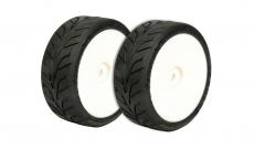 VTEC vodné Dunlop D20 1/10 bezd. pneumatiky nalepené 2 ks