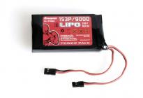 Vysielačový pack, LiPo 1S3P/9000 3,8 V TX, 34,2 Wh