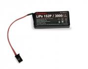 Vysielačové LiPo 1S2P / 3000 3,7V pre MZ-12 sériu