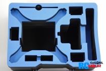 Výstelka pre DJI Phantom 4 pre kufor G36, modrá