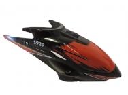 WL toys S929-01 kryt kabíny červený