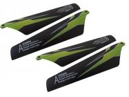 WL toys S929-02 hlavné listy rotora zelené