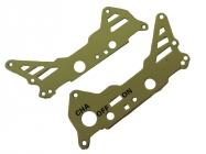 WL toys S929-11 rám kovový časť A zelený