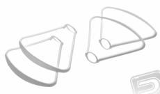 X23W - ochranné oblúky