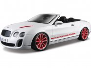 Bburago Plus Bentley Continental ISR 1:18 biela