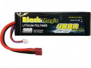 Black Magic LiPol Car 7,4V 4000mAh 30C Deans