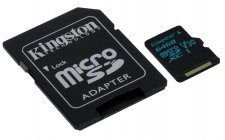 Kingston microSDXC 64GB UHS-I U3 (90R/45W)