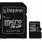 Kingston MicroSDHC 16GB UHS-I U1 (45R/10W)