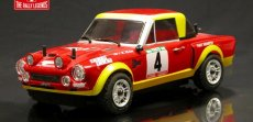 RC auto Fiat 124 Abarth Rally