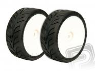 XTEC vodné Dunlop D20 1/10 bezd. pneumatiky nalepené 2 ks
