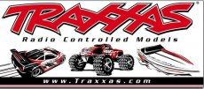 Traxxas - racing banner 0.9x2.1m