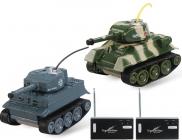 RC tanky mini bojujúce Tiger vs T-34