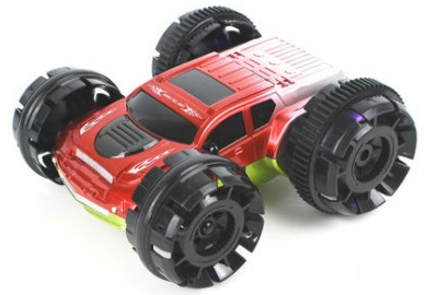 RC Double car, červená