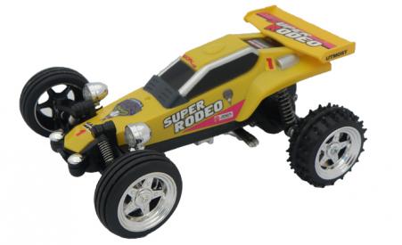 Mini Buggy Kart, žltá, 27 MHz