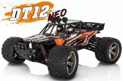 RC auto DT-12 NEO elektro Offroad piesková BUGGY, oranžová