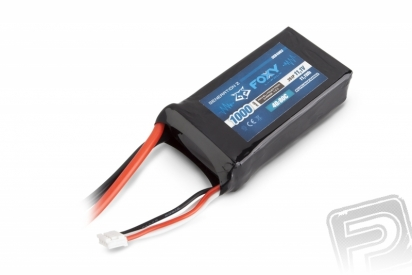 FOXY G2 Li-Pol 1000mAh/11,1V 40/80C 11,1Wh