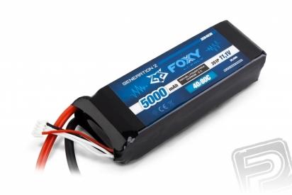 FOXY G2 Li-Pol 5000mAh/11,1V 40/80C 55,5Wh