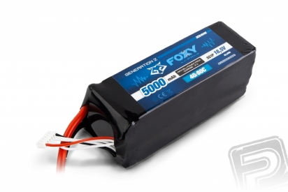 FOXY G2 Li-Pol 5000mAh/18,5V 40/80C 92,5Wh