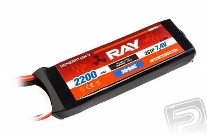G3 - LC RAY Li-Pol 2200mAh/7,4 30/60C Air pack 16,3Wh