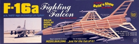 Maketa F-16A Fighting Falcon 1:30