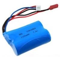 Náhradný akumulátor Li-Po 7,4 V 1100 mAh