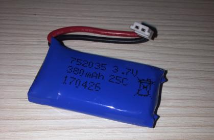 Náhradný akumulátor Li-Pol 3.7V / 380 mAh
