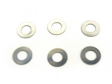 Podložky 7,9x3,3x0,5 mm (6 ks)