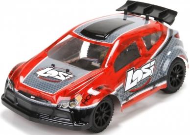 RC auto Losi Micro Rally-X 1:24, červená