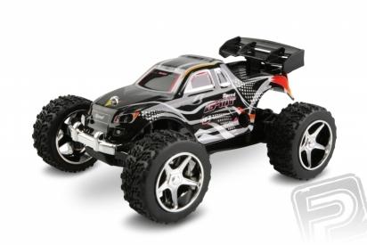 Micro car, 1:46, čierna