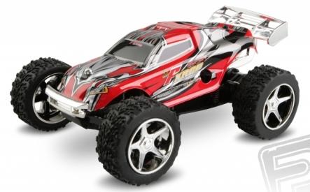 Micro car, 1:46, červená