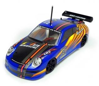 RC auto Porsche 2,4Ghz, 1/18, RTR