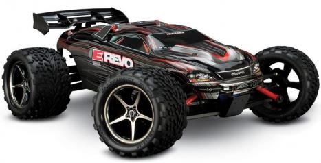 RC auto Traxxas E-Revo 1/16, čierna