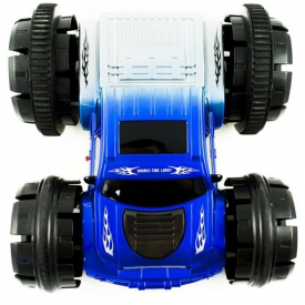 RC Double car, modré