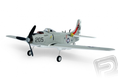 RC lietadlo A1D Skyraider V2 (Baby WB) M1