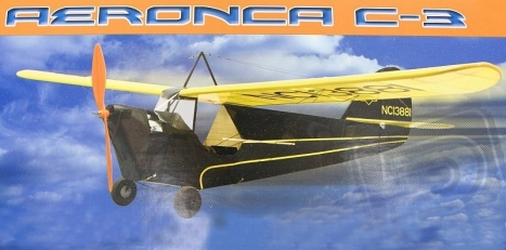 RC lietadlo Aeronca C-3 Collegian