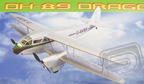 RC lietadlo DH-89 Dragon Rapide